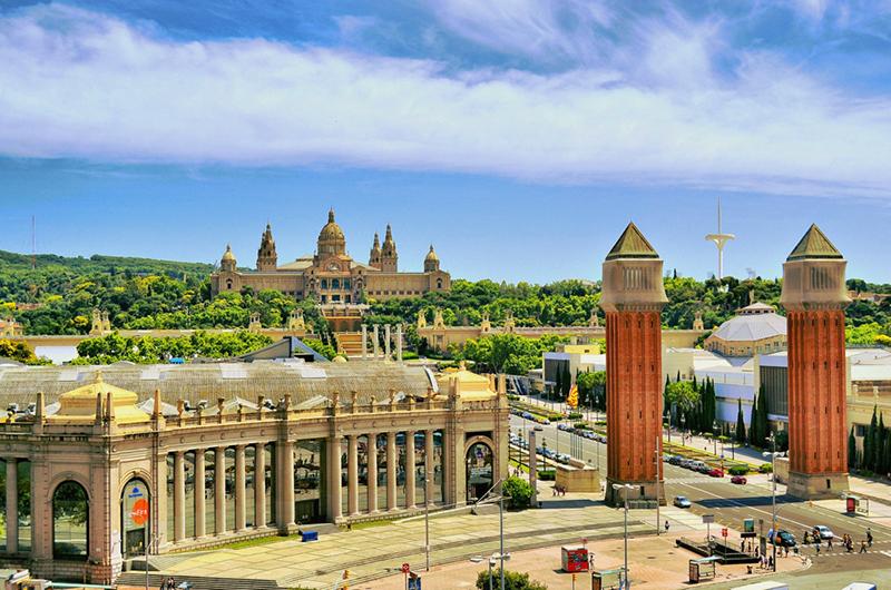 Montjuic & Plaça España